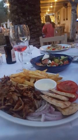 Greece for kids - Sani Vosporos Grill
