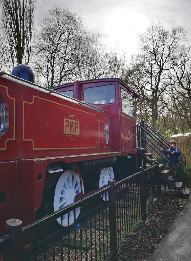 PWP - train & slide