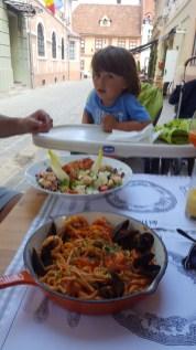 Brasov with kids: Trattoria dei Frati