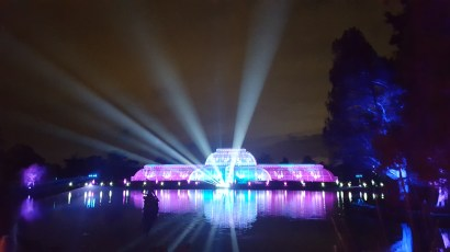 Visit Kew Gardens with kids: Xmas