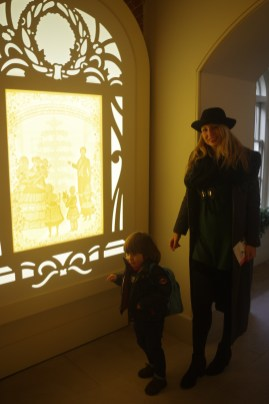 Kensington palace with kids