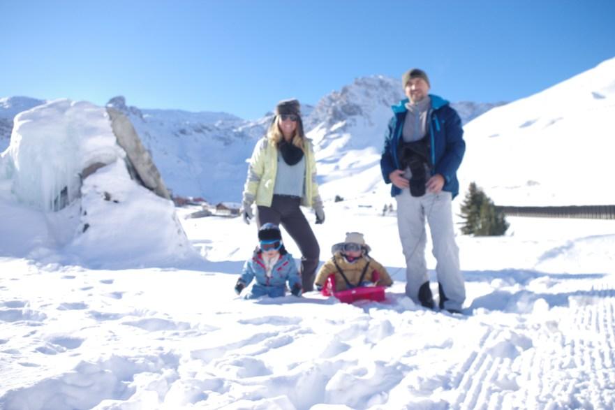 Tignes with kids