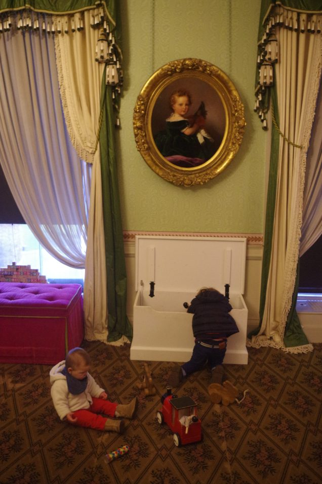 Easter activities for kids in London - inside Kensington Palace