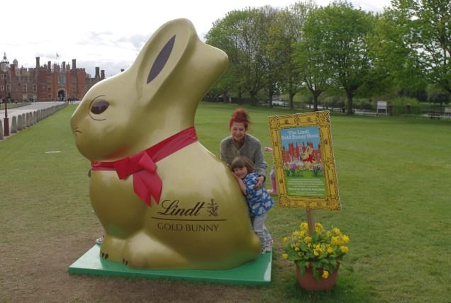 Easter activities for kids in London - Hampton Court