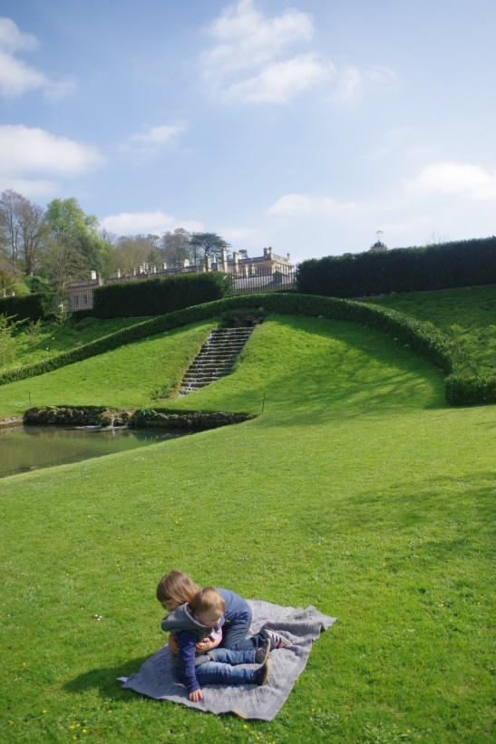 Day out Dyrham Park: pond and gardens