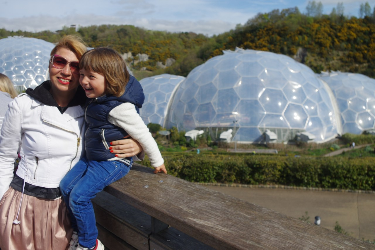 Eden project: the Domes