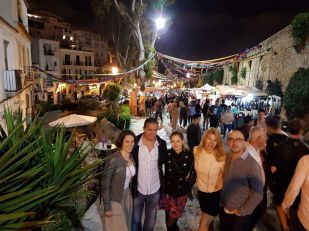 Ibiza Street Party in the Old City