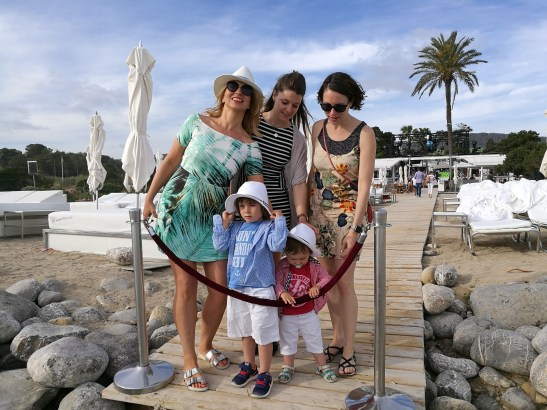 Ibiza with kids: Bue Marin