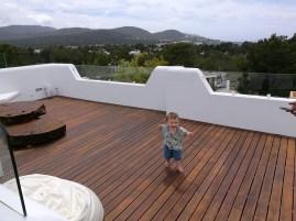 Cala Tarida with kids: The villa
