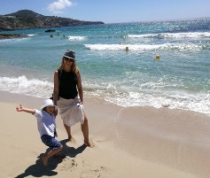 Family guide to Ibiza: Calla Tarida with kids
