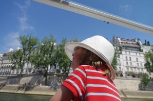 Bateaux Mouches & 3.5 years old