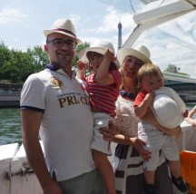 Paris with toddlers: Bateaux Mouches