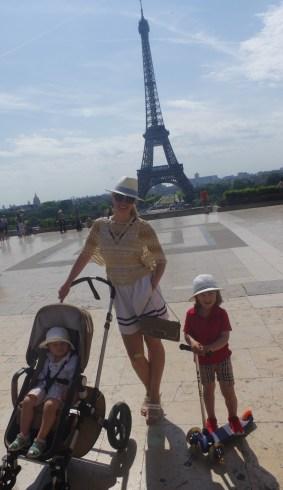 La Tour Eiffel with kids