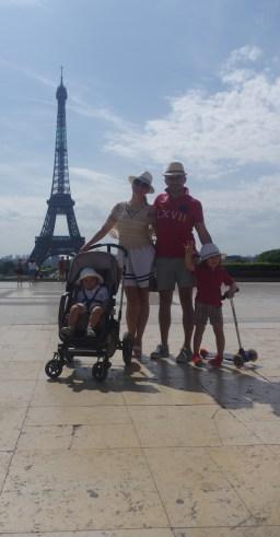 Paris with kids - La Tour Eiffel