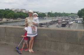 Paris with kids: La Seine
