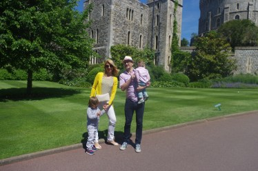 Windsor Castle with the kids