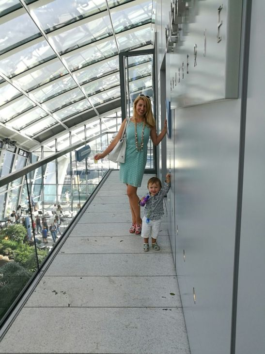 Family daysout London : Sky Garden