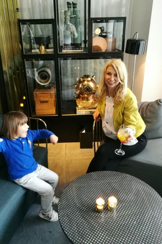 Mondrian hotel with kids