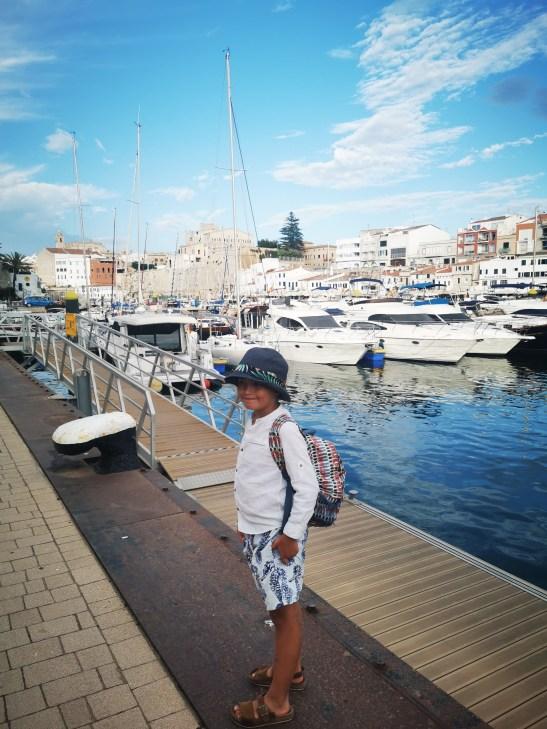 Ciutadella with kids