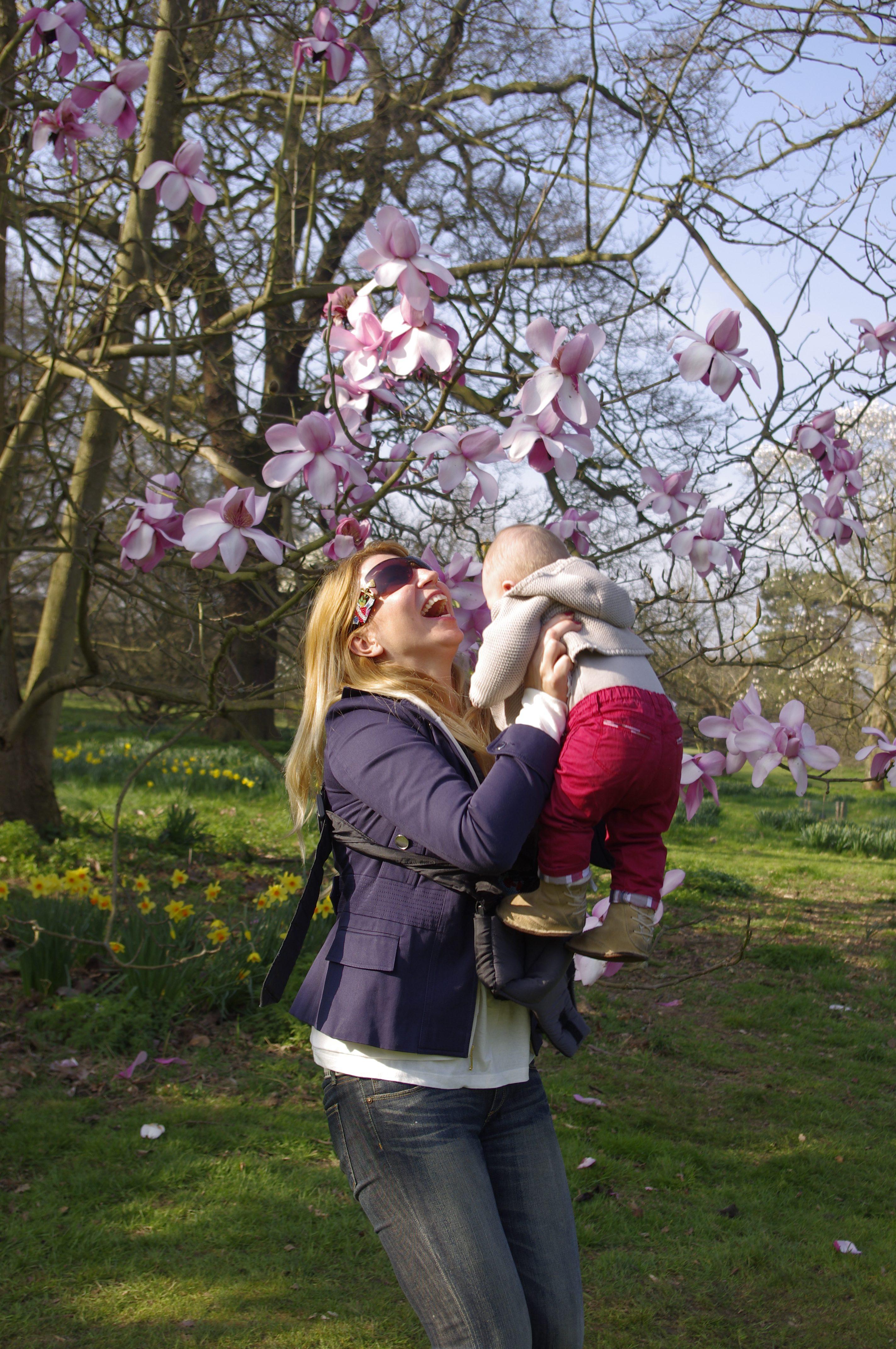 Visit Kew Gardens baby