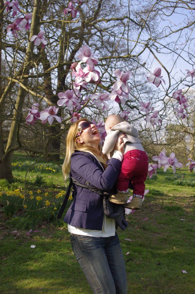 Kew Gardens with a baby