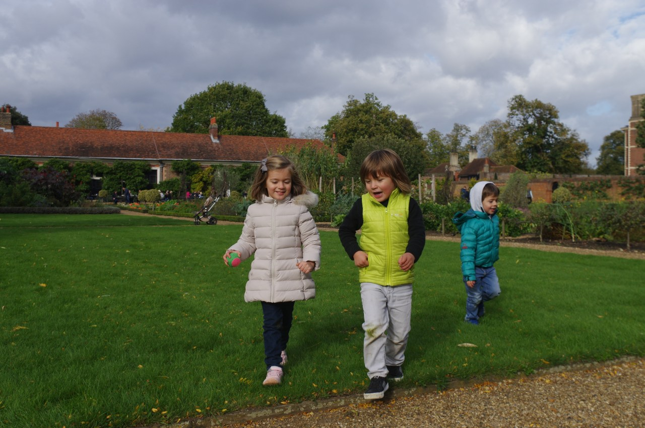 Ham House with kids