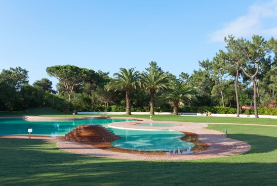 Martinhal Cascais with kids - pool