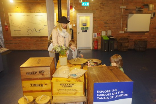 London museums for kids: Canal Museum 1st floor