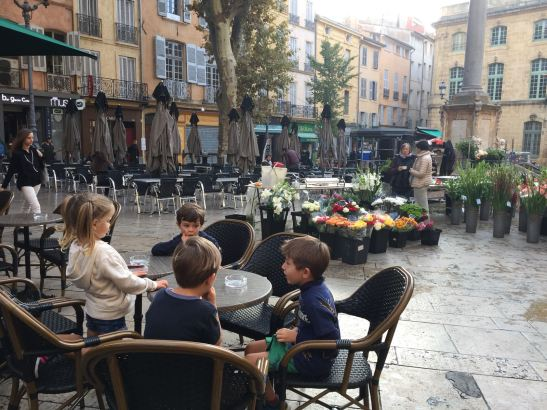 Provence with kids