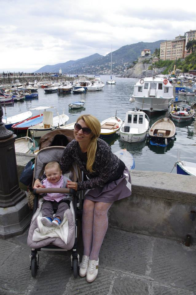 Camogli with kids - harbour