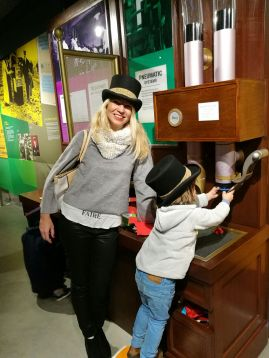 Postal Museum London with kids