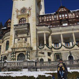 Sinaia Romania ski resort: Peles Castle