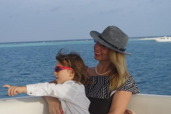 Sunset dolphin cruise Maldives