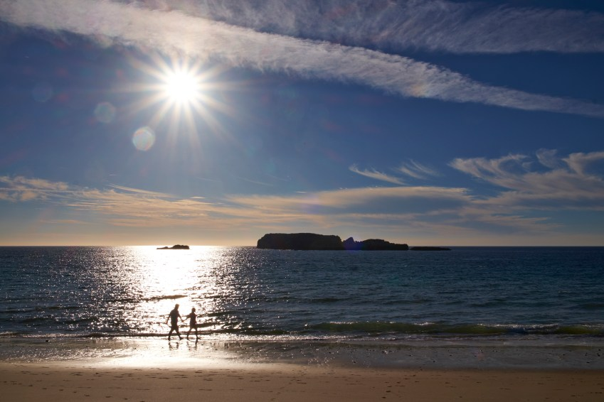 Valentines with kids: Sagres - romantic breaks with hot tub