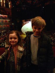Cirque de soleil OVO Royal Albert Hall with kids