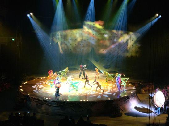 Royal Albert Hall Cirque de soleil OVO