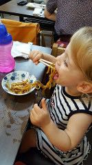 Japan with toddler: noodles