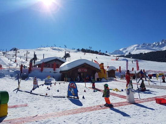 top things to do in Courchevel: skiing