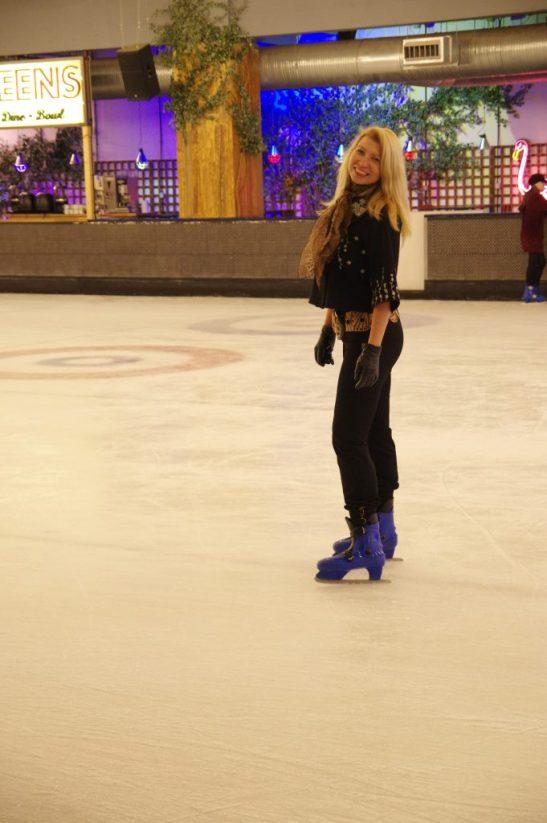 Queens skate dine bowl indoor ice skating London