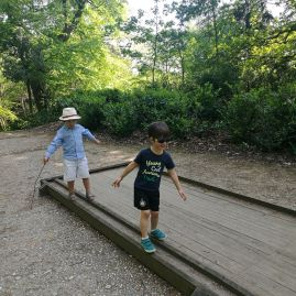 London day trip with kids: Claremont National Trust