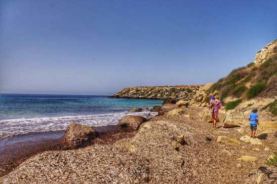 Favignana with kids - Favignana best beaches: Cala Azzurra