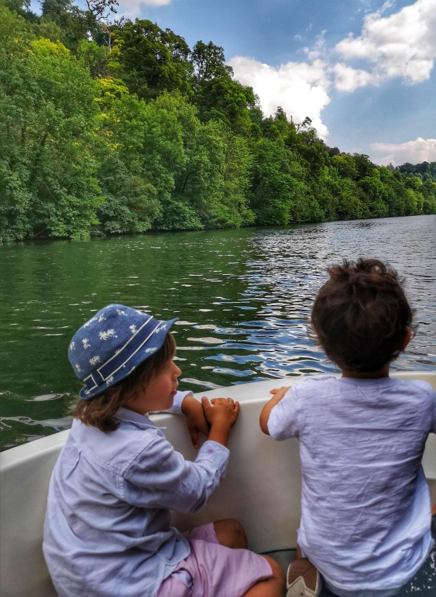 Boat ride on Thames near Cliveden