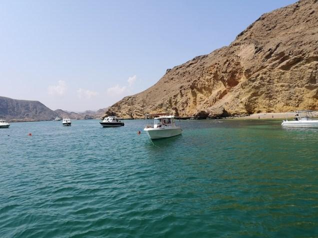 Bandar Al Khiran bay Oman