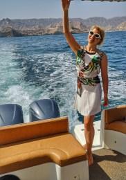 Sailing by Shangri La Muscat