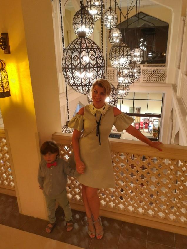 Shangri La Muscat dining & around