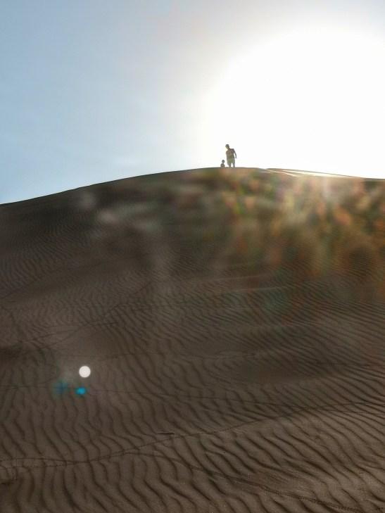 Desert safari with kids