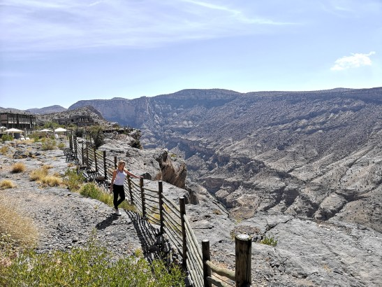 Al Hajar mountains Oman: Jabal Akhdar