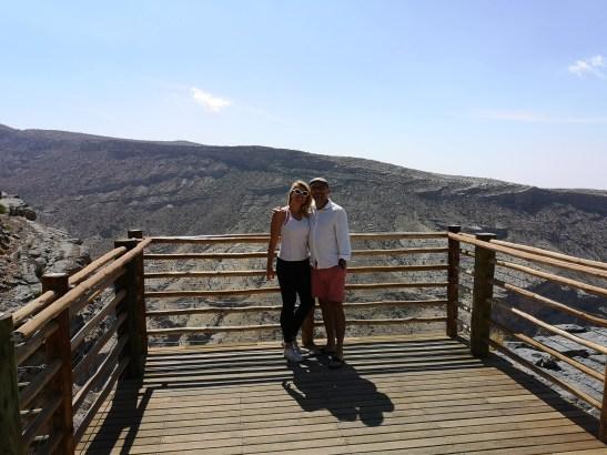Retreat Al Hajar mountains Oman and Via Ferrata climbing