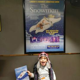 Christmas in London with kids: Snowman at the Peacock theatre
