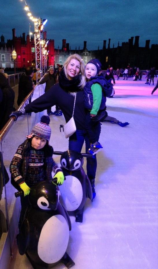 Hampton court ice skating